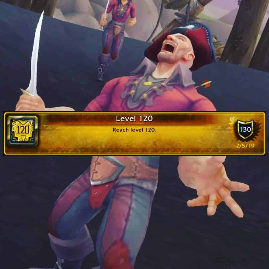 W00t  120… Warmode, heirlooms and timewalking is cheat mode. I hit 110 yesterd…