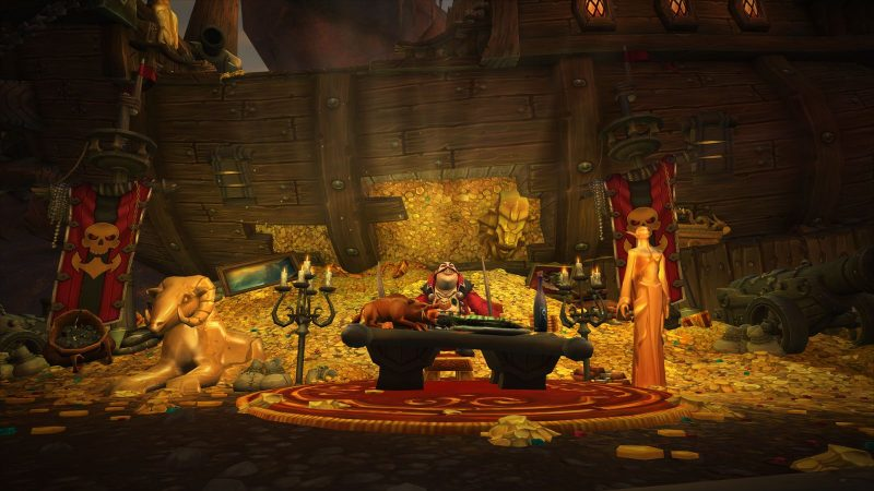 Velvet Room: Azeroth | Warcraft x Persona 5 | Photo Edit 1